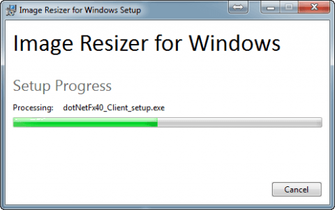 Устанавливаем программу Image Resizer for Windows в Windows 7 - 5