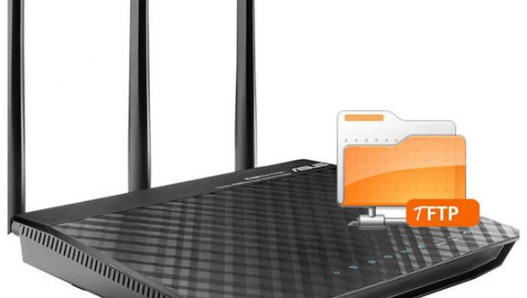 Установка TFTP сервера на роутер Asus RT-N66U, два способа установки