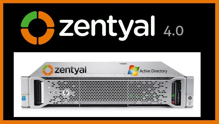 Установка Active Directory на Linux используя Zentual Server