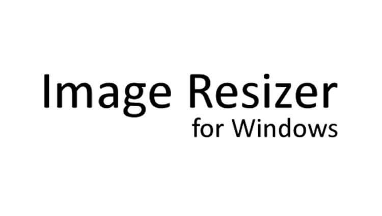 Пакетное изменение размера изображения в Image Resizer for Windows 7
