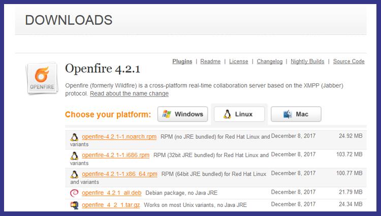 Установка jabber сервера OpenFire в Debian / Ubuntu