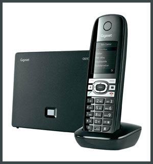 Установка и настройка VOIP телефона GIGASET C610A IP для работы с Asterisk