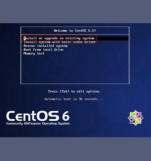 Установка на сервер CentOS 6.5 c подробными скриншотами