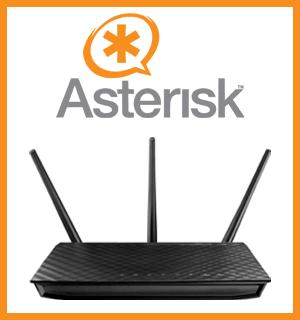 Установка Asterisk на роутер Asus RT-N66U