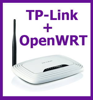 Прошивка OpenWRT 15 на wifi роутер TP-Link TL-WR741ND