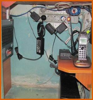 Домашняя мини серверная в шкафу, Asterisk на домашнем сервере