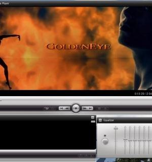 Скриншот окна одного из лучших бесплатных медиа проигрывателей VLC