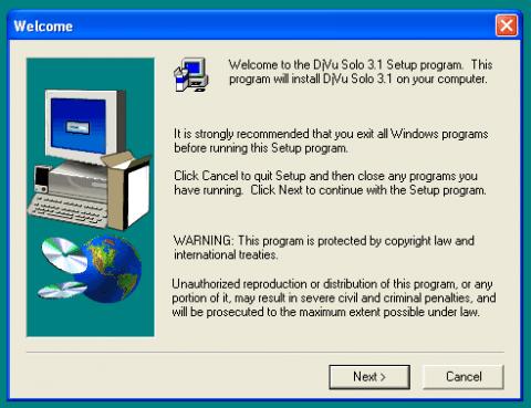 Устанавливаем DjVuSolo 3.1 в Windows для конвертации jpg to djvu