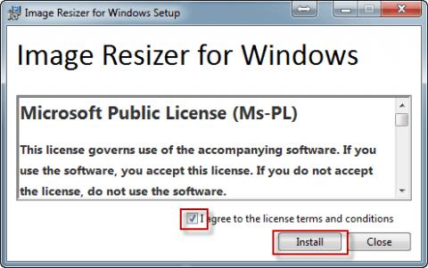 Устанавливаем программу Image Resizer for Windows в Windows 7 - 3