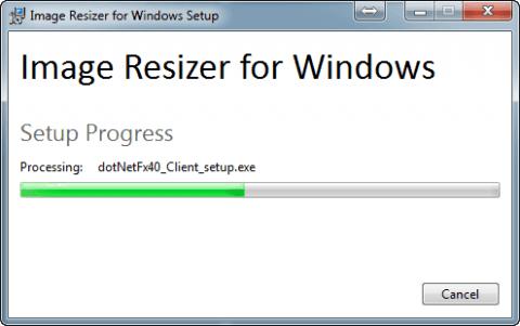 Устанавливаем программу Image Resizer for Windows в Windows 7 - 5