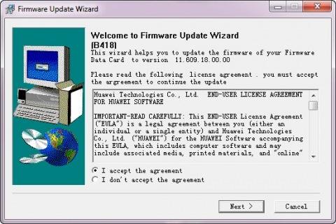 Прошивка 3G модема Huawei E1550 в Windows - 3